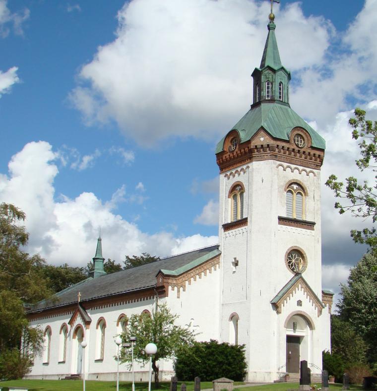 Björketorps kyrka i Rävlanda.