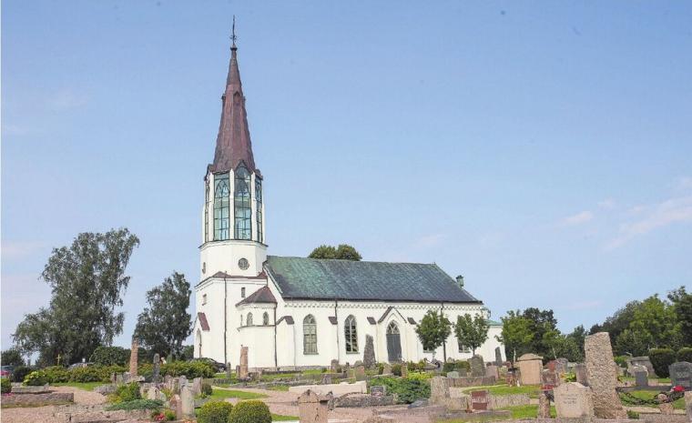 Skallsjö kyrka i Floda.